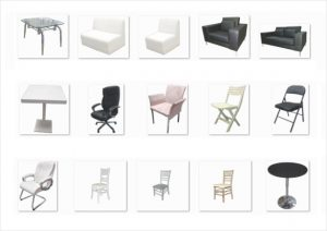 Event & Exhibition Furniture On Rent