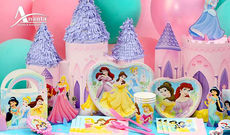 Girl 1st Birthday Party Themes