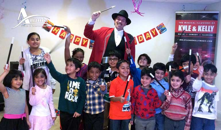 Magician For Birthday Party in dhaka