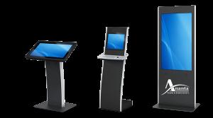 touch screen information kiosk